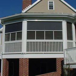 Block the sun from the outside with exterior solar screen - Exterior sun blocking window shades ...