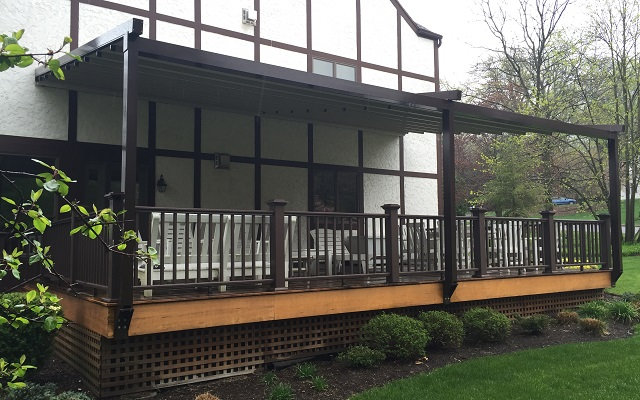 Retractable Pergola Awning Photos Norther Nj Bergen Awnings