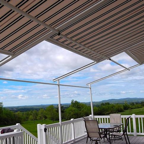 Awnings in nj awnings for bergen county window works of nj for J j bathrooms falkirk